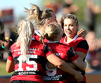 Action from the 2020 Farah Palmer Cup women's rugby semifinal between Canterbury and Auckland at Rugby Park in Christchurch, New Zealand on Saturday, 24 October 2020. Photo: Martin Hunter / lintottphoto.co.nz