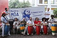 16.10.2018 - Protesto em memória ao mestre Moa em SP