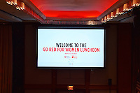 The 2015 NYC Go Red For Women Luncheon