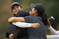 Auckland celebrate, 2019 New Zealand Women's Interprovincials, Maraenui Golf Club, Hawke's Bay, New Zealand, Saturday 06th December, 2019. Photo: Kerry Marshall/www.bwmedia.co.nz