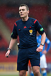 St Johnstone v Kilmarnock.....28.02.15<br /> Referee Euan Anderson<br /> Picture by Graeme Hart.<br /> Copyright Perthshire Picture Agency<br /> Tel: 01738 623350  Mobile: 07990 594431