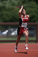 4 May 2008: Stanford Cardinal Liz Minoofar during Stanford's Payton Jordan Cardinal Invitational at Cobb Track & Angell Field in Stanford, CA.