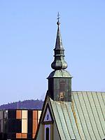 Evangelische Kirche Dlhyrad 67, Bardejov, Presovsky kraj, Slowakei, Europa, UNESCO-Weltkulturerbe<br /> Protestant church Dlhyrad 67, Bardejov, Presovsky kraj, Slovakia, Europe, UNESCO-world heritage