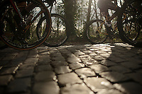 charging over the cobbles<br /> <br /> GP Le Samyn 2014