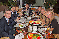Moskou, Russia, Februari 4, 2016,  Fed Cup Russia-Netherlands,  Official Dinner, Dutch team <br /> Photo: Tennisimages/Henk Koster