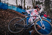 eventual winner; European U23 CX Champion Ceylin del Carmen Alvarado (NED/Corendon-Circus)<br /> <br /> Brussels Universities Cyclocross (BEL) 2019<br /> Women's Race<br /> DVV Trofee<br /> ©kramon