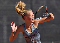 Netherlands, Rotterdam August 05, 2015, Tennis,  National Junior Championships, NJK, TV Victoria, Femke Mars<br /> Photo: Tennisimages/Henk Koster