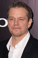 """NEW YORK, NY - FEBRUARY 04: Matt Damon at the New York Premiere Of Columbia Pictures' """"The Monuments Men"""" held at Ziegfeld Theater on February 4, 2014 in New York City, New York. (Photo by Jeffery Duran/Celebrity Monitor)"""
