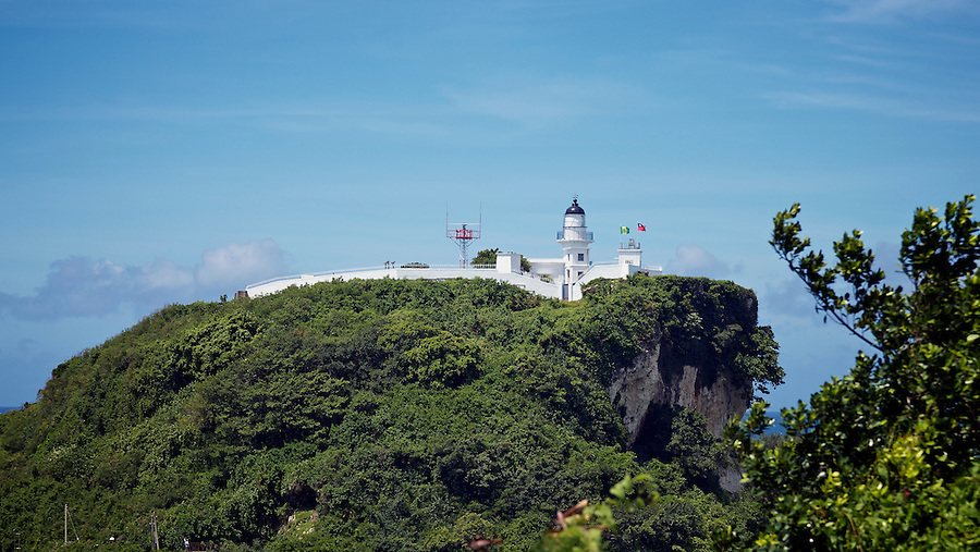 The Lighthouse Guards The Narrow Entrance To The Kaohsiung (Takow) Harbour.  Built By John Reginald Harding (Brother-In-Law To The Founder Of Rolls Royce), An Assistant Commissioner In The Imperial Maritime Customs Service.