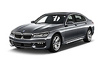 2016 BMW 7 Series 4 Door Sedan Angular Front stock photos of front three quarter view