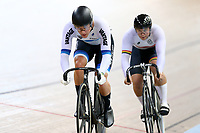 Sam Webster Patrick Clancy compete in the Men Elite Sprint race during the 2020 Vantage Elite and U19 Track Cycling National Championships at the Avantidrome in Cambridge, New Zealand on Friday, 24 January 2020. ( Mandatory Photo Credit: Dianne Manson )