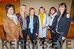 Fiona Kelly, Fiona Moriarty, Caroline Stack, Phil Quirke, Martina Colgan and Marie Colgan O'Flynn enjoying the Bon Jovee fundraiser in the Brandon Hotel on Saturday. .