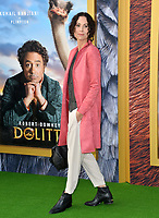 """LOS ANGELES, USA. January 11, 2020: Minnie Driver at the premiere of """"Dolittle"""" at the Regency Village Theatre.<br /> Picture: Paul Smith/Featureflash"""