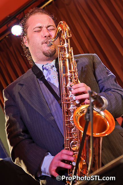 The Jeff Riley Jazz Suite in CD release concert at The Gramophone in St. Louis, MO on July 6, 2011.
