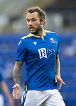 St Johnstone v Preston North End…13.07.21  McDiarmid Park<br />Stevie May<br />Picture by Graeme Hart.<br />Copyright Perthshire Picture Agency<br />Tel: 01738 623350  Mobile: 07990 594431