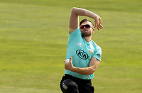 Daniel Moriarty of Surrey in bowling action during Essex Eagles vs Surrey, Vitality Blast T20 Cricket at The Cloudfm County Ground on 11th September 2020