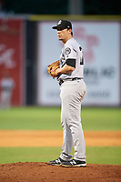 Jackson Generals starting pitcher Taylor Widener (17) gets ready to deliver a pitch during a game against the Chattanooga Lookouts on May 9, 2018 at AT&T Field in Chattanooga, Tennessee.  Chattanooga defeated Jackson 4-2.  (Mike Janes/Four Seam Images)
