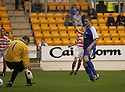 06/08/2002                   Copyright Pic : James Stewart.File Name : stewart-st john v hamilton 03.RYAN STEVENSON SCORES SAINTS FIRST GOAL....Payments to :-.James Stewart Photo Agency, 19 Carronlea Drive, Falkirk. FK2 8DN      Vat Reg No. 607 6932 25.Office     : +44 (0)1324 570906     .Mobile  : +44 (0)7721 416997.Fax         :  +44 (0)1324 570906.E-mail  :  jim@jspa.co.uk.If you require further information then contact Jim Stewart on any of the numbers above.........