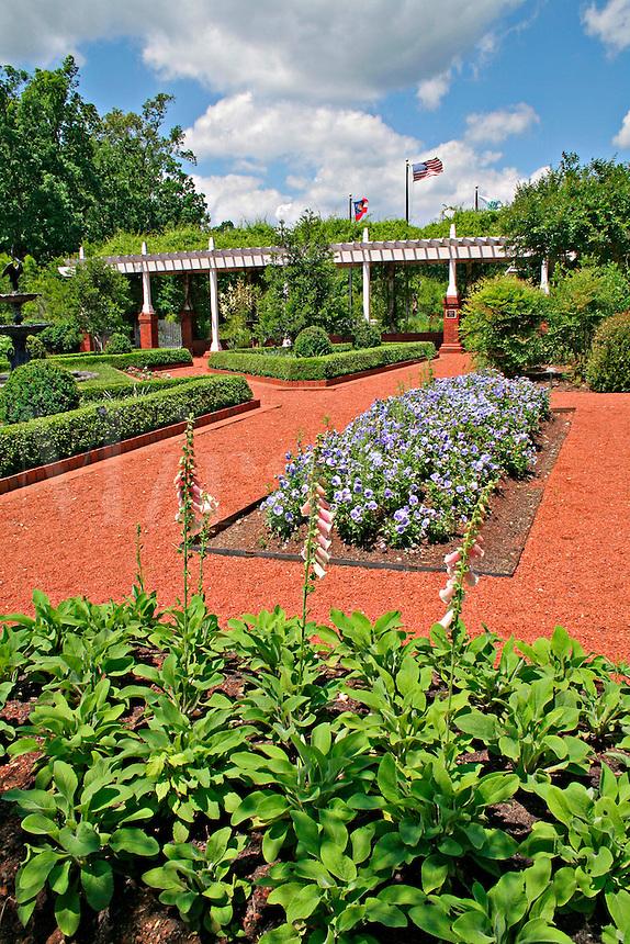 Landscaping at State Botanical Garden Athens Georgia