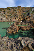 Plémont Bay im Nordosten, Insel Jersey, Kanalinseln
