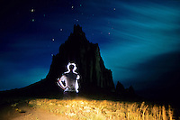 Shiprock volcanic neck New Mexico, USA