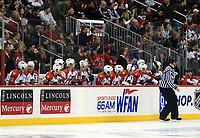 Bank der Florida Panthers<br /> New Jersey Devils vs. Florida Panthers<br /> *** Local Caption *** Foto ist honorarpflichtig! zzgl. gesetzl. MwSt. Auf Anfrage in hoeherer Qualitaet/Aufloesung. Belegexemplar an: Marc Schueler, Am Ziegelfalltor 4, 64625 Bensheim, Tel. +49 (0) 6251 86 96 134, www.gameday-mediaservices.de. Email: marc.schueler@gameday-mediaservices.de, Bankverbindung: Volksbank Bergstrasse, Kto.: 151297, BLZ: 50960101