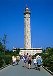 France, Poitou-Charentes, Département Charente-Maritime, Ile de Re: Phare des Baleines | Frankreich, Poitou-Charentes, Département Charente-Maritime, Ile de Re: Phare des Baleines - Leuchtturm der Wale