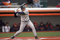 April 11, 2008:  University of Michigan Wolverines starting outfielder (14) against the University of Illinois Fighting Illini at Illinois Field in Champaign, IL.  Photo by:  Chris Proctor/Four Seam Images