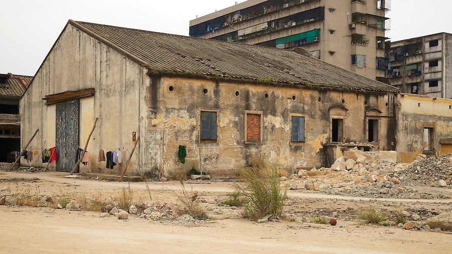 This godown is immediately behind the site of the former B&S office in Shantou (Swatow) - Godown #15.