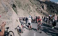 Jurgen Roelandts (BEL/Lotto-Soudal) up the Col d'Izoard (HC/2360m/14.1km/7.3%)<br /> <br /> 104th Tour de France 2017<br /> Stage 18 - Briancon › Izoard (178km)