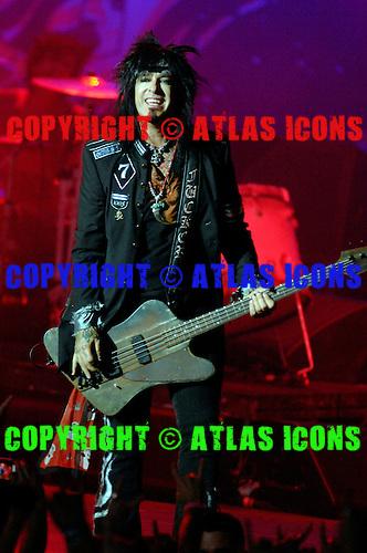 Motley Crue; Mick Mars.Photo Credit: Eddie Malluk/Atlas Icons.com