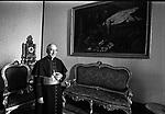 CARDINALE AGOSTINO CASAROLI<br /> SALA DEL GOVERNO  - CITTA DEL VATICANO 1978