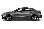 Car Driver side profile view of a 2019 Mercedes Benz A-Class-Sedan A-220 4 Door Sedan Side View