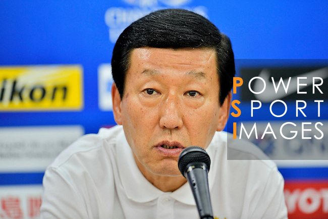 Jeonbuk Hyundai Motors (KOR) during their AFC Champions League Press Conference on Tuesday, 27 September  2016, held at  Jeonju World Cup Stadium in Jeonju, South Korea. Photo by Marcio Machado / Power Sport Images