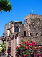 Brömserburg, Rüdesheim, Hessen, Deutschland, Europa, UNESCO Weltkulturerbe<br /> castle Brömserburg, Rüdesheim, Hesse, Germany, Europe