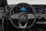 Car pictures of steering wheel view of a 2019 Mercedes Benz A-Class - 4 Door Sedan Steering Wheel