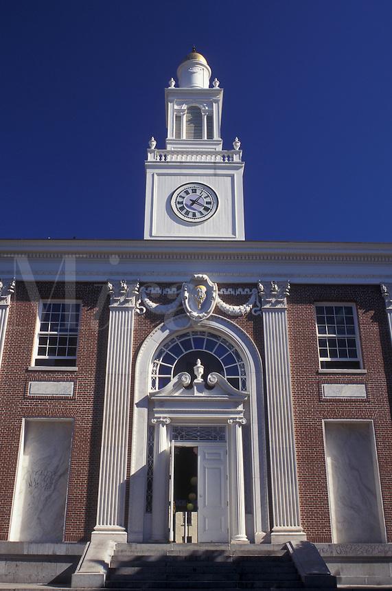Burlington, Vermont, City Hall in downtown Burlington, VT.