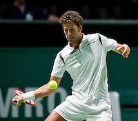 Februari 11, 2015, Netherlands, Rotterdam, Ahoy, ABN AMRO World Tennis Tournament, Robin Haase (NED) <br /> Photo: Tennisimages/Henk Koster