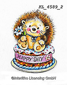 CUTE ANIMALS, LUSTIGE TIERE, ANIMALITOS DIVERTIDOS, paintings+++++,KL4589/2,#ac#, EVERYDAY ,sticker,stickers ,hedgehock,hedgehocks ,autumn