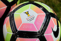 Harrison, NJ - Thursday Sept. 15, 2016: Ball prior to a CONCACAF Champions League match between the New York Red Bulls and Alianza FC at Red Bull Arena.