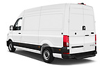 Car pictures of rear three quarter view of 2020 Man TGE - 4 Door Refrigerated Van Angular Rear