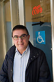 Salvador Slara, of the health services section of the Commissiones Obreras trade union, Barcelona, Spain.