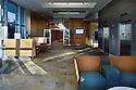 FIU School of Nursing Interior of Elevator lobby