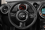 Car pictures of steering wheel view of a 2016 MINI Countryman One 5 Door Hatchback Steering Wheel