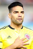 Colombia's Radamel Falcao during international friendly match. June 7,2017.(ALTERPHOTOS/Acero) (NortePhoto.com) (NortePhoto.com)