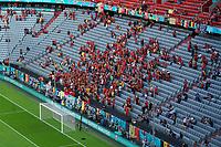 Belgische Fans<br /> - Muenchen 02.07.2021: Italien vs. Belgien, Viertelfinale, Allianz Arena Muenchen, Euro2020, emonline, emspor, Playoffs, Quarterfinals<br /> <br /> Foto: Marc Schueler/Sportpics.de<br /> Nur für journalistische Zwecke. Only for editorial use. (DFL/DFB REGULATIONS PROHIBIT ANY USE OF PHOTOGRAPHS as IMAGE SEQUENCES and/or QUASI-VIDEO)