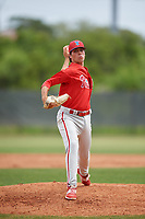 Philadelphia Phillies pitcher Jonathan Hennigan (51) during a Minor League Spring Training game against the Toronto Blue Jays on March 30, 2018 at Carpenter Complex in Clearwater, Florida.  (Mike Janes/Four Seam Images)