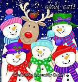 Kate, CHRISTMAS SANTA, SNOWMAN, WEIHNACHTSMÄNNER, SCHNEEMÄNNER, PAPÁ NOEL, MUÑECOS DE NIEVE, paintings+++++,GBKM661,#x#