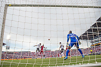 Commerce City, CO - Thursday June 08, 2017: Jozy Altidore, Goal cam during a 2018 FIFA World Cup Qualifying Final Round match between the men's national teams of the United States (USA) and Trinidad and Tobago (TRI) at Dick's Sporting Goods Park.