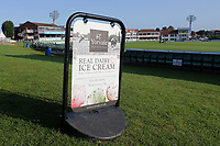 Ice cream for sale during Kent CCC vs Essex CCC, Specsavers County Championship Division 1 Cricket at the St Lawrence Ground on 20th August 2019